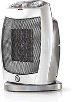 Nedis 750 Watt & 1500 Watt draaibare keramische design heater en ventilator