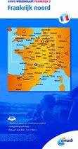 ANWB wegenkaart - ANWB wegenkaart Frankrijk 2 Frankrijk noord