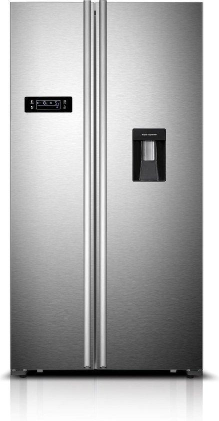 Koelkast: Frilec BONNSBS645-4WA++INOX - Amerikaanse koelkast, van het merk Frilec