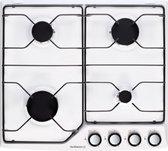 De Dietrich DPE7610W Ingebouwd Gaskookplaat Wit kookplaat