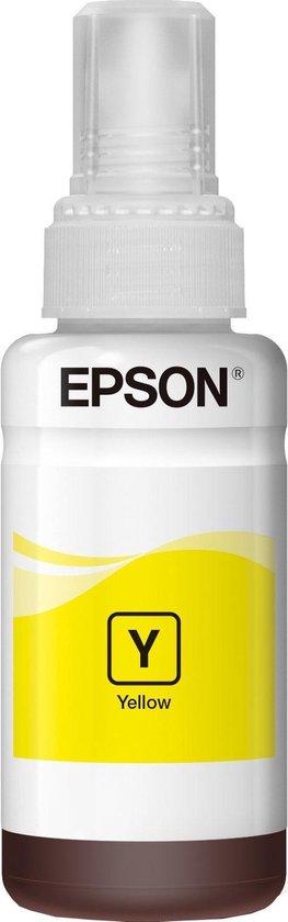 Ink/T6641 4xColour Bottles 70ml YL - Epson