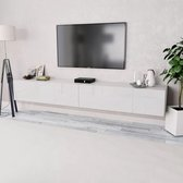 Zwevend Hoogglans Zwart Tv Meubel Flame 1 Lowboard Tv Kast.Witte Tv Meubel Kopen Alle Witte Tv Meubels Online Bol Com