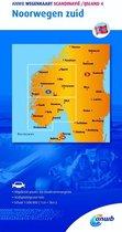 ANWB wegenkaart - Scandinavië/IJsland 4 Noorwegen zuid