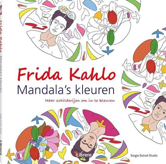 Frida Kahlo - Mandala's kleuren - Sergio Guinot Studio |