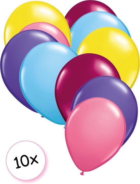 Ballonnen Eenhoorn 10 stuks 27 cm