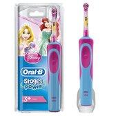 Oral-B Stages Power - Elektrische Tandenborstel  - Kinderen - Disney - Roze, blauw