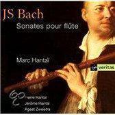 Bach: Sonates pour Flute / Hantai, Zweistra