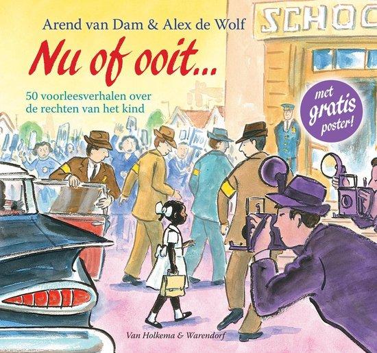 Boek cover Nu of ooit van Arend van Dam (Hardcover)