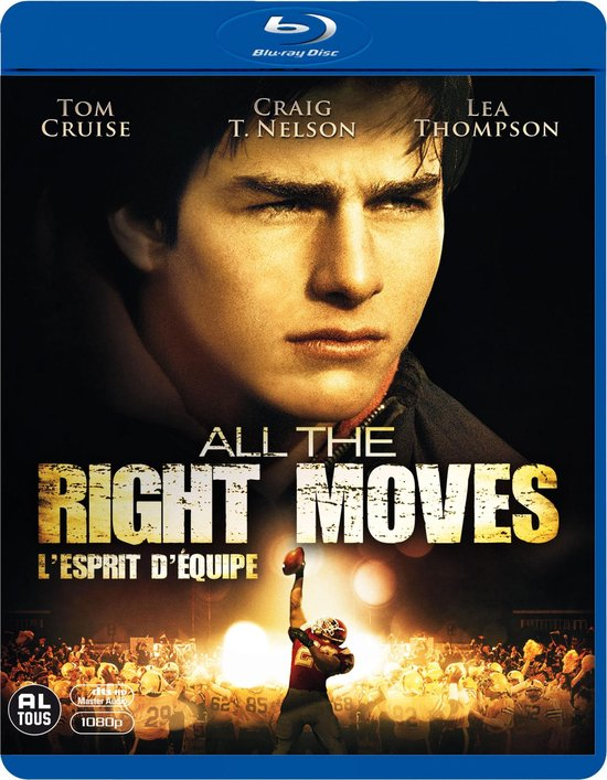 Cover van de film 'All The Right Moves'