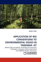 Application of Rio Conventions to Environmental Issues in Tanzania -07