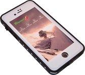 """Phonaddon iPhone 8 4.7"""" Waterdicht Hoesje - Wit"""