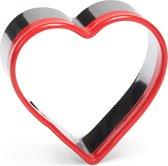 Uitsteekvorm rvs hart 6 cm