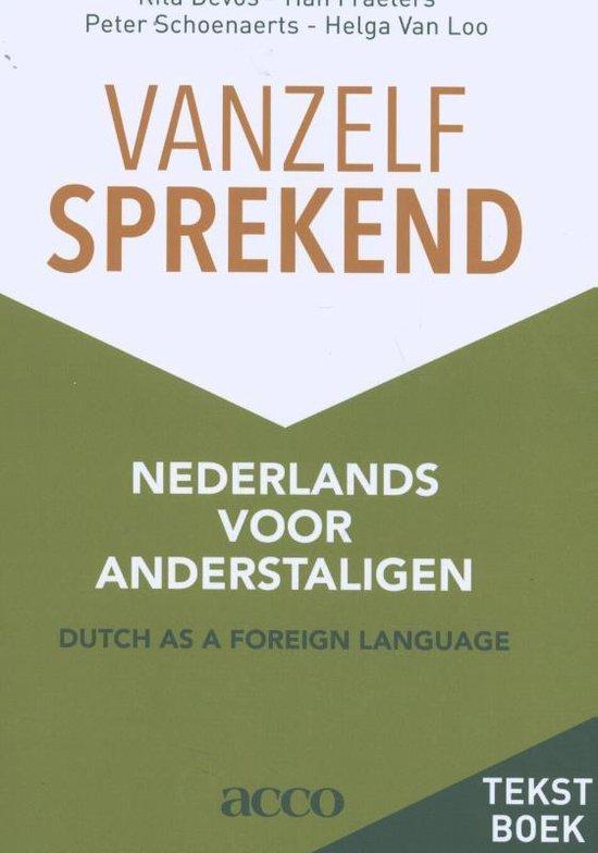 Afbeelding van Vanzelfsprekend. Nederlands voor anderstaligen