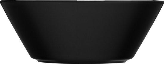 Iittala Teema zwart schaal/diep bord 15cm