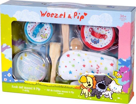 Kookset Woezel en Pip 9-delig - Woezel en Pip