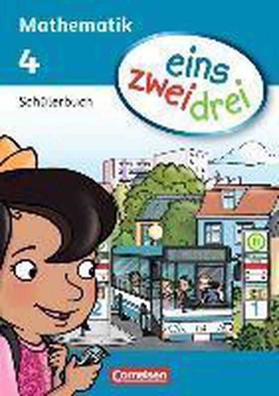 Boek cover eins zwei drei - Mathematik 4. Schuljahr. Schülerbuch van Ümmü Demirel (Paperback)