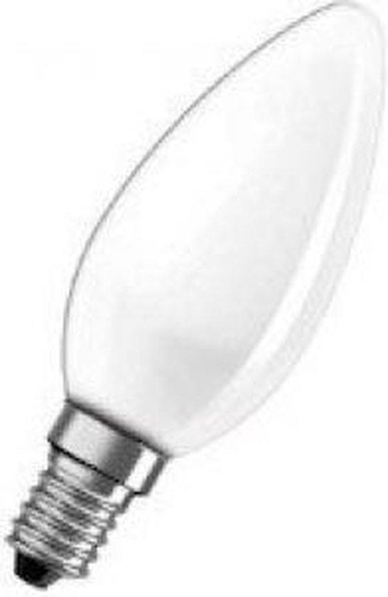 Kaarslamp E14 230v 25w MAT