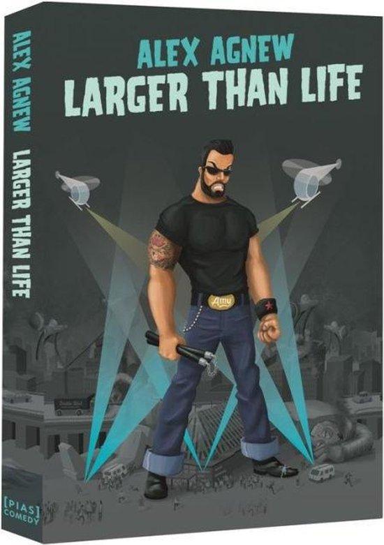 Cover van de film 'Alex Agnew - Larger Than Life'