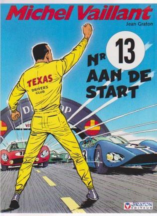 Michel Vaillant deel 5  Nr.13 aan de start