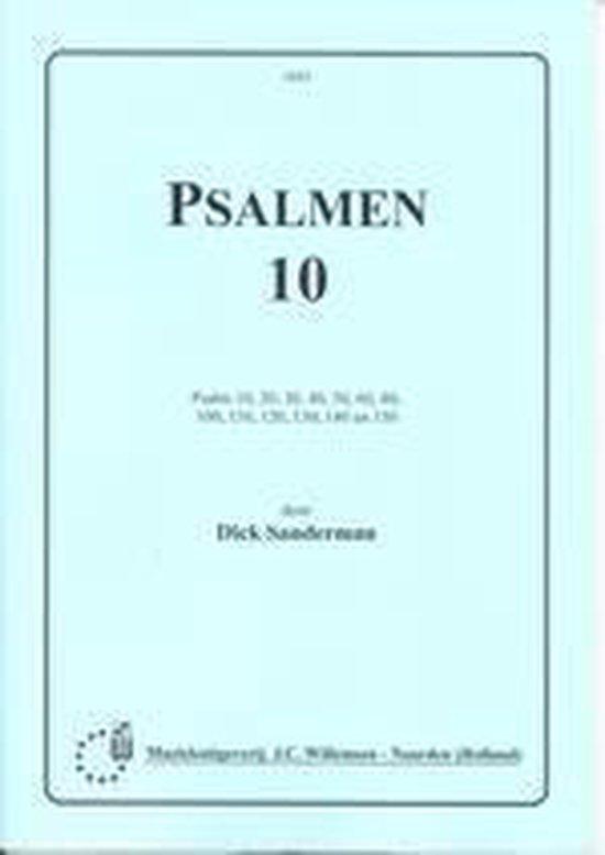 Psalmen 10 - D. Sanderman  