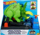 Afbeelding van Hot Wheels City Verpletterende Triceratops Speelset