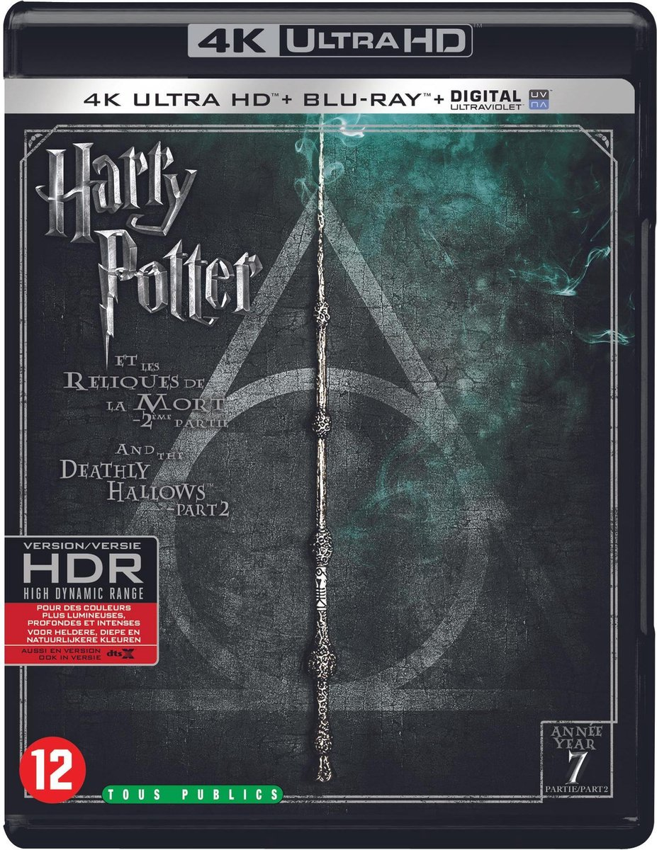 Harry Potter and the Deathly Hallows - Part 2 (4K Ultra HD Blu-ray)-