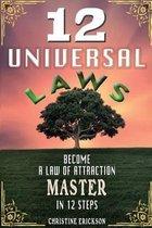 Boek cover 12 Universal Laws van Christine Erickson