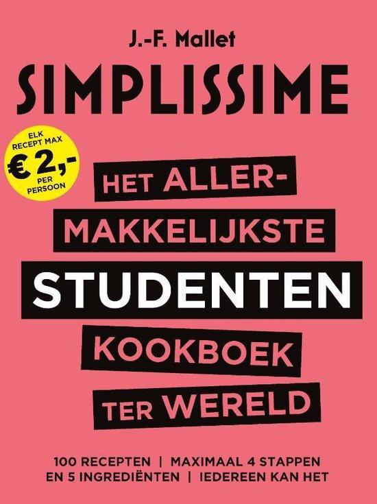 Het allermakkelijkste studentenkookboek ter wereld - J.-F. Mallet |