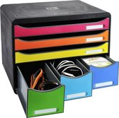 Ladenblok Store-box Maxi 6 Laden uit gerecycleerd plastiek