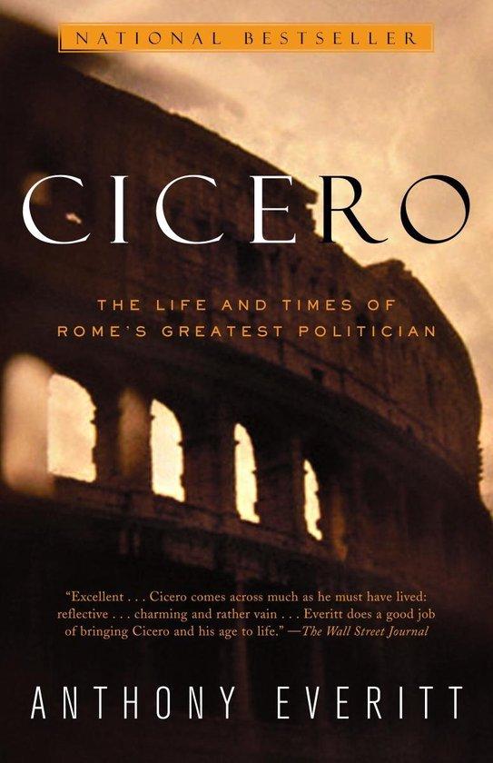 Boek cover Cicero van Anthony Everitt (Paperback)