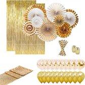 Wonderbaar bol.com | 34 st. Deluxe gouden bruiloft decoraties - (25, 30, 35 PV-41