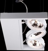 Linea Verdace - Hanglamp LED Cool Incl.3Xar111 Wit