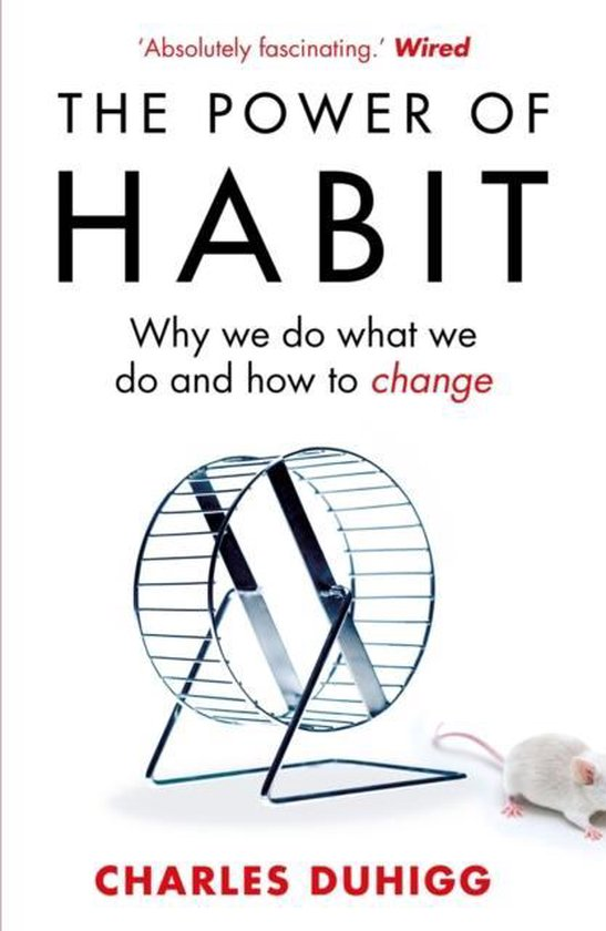 Boekomslag voor The Power of Habit