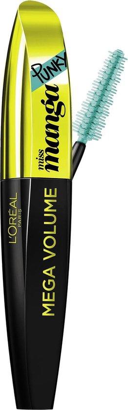 L'Oréal Paris Mega Volume Miss Manga Punky - Groen - Mascara - L'Oréal Paris