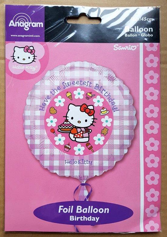 Hello Kitty Birthday ballon