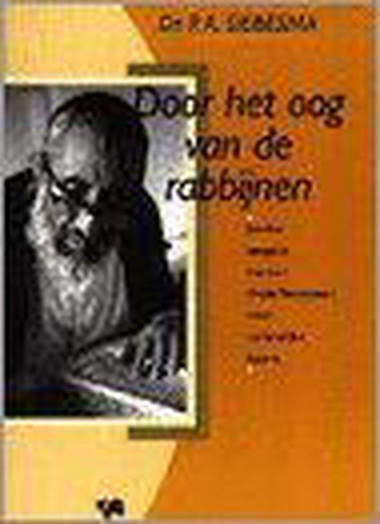 Door het oog van de rabbijnen - P.A. Siebesma |