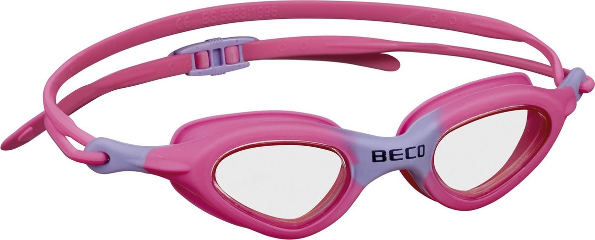 BECO kinder zwembril Almeria - roze/paars - BECO