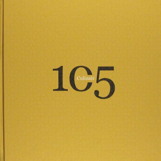 Cover van het boek '105 Culinair + 3D Bril'