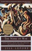 Boek cover Name Of War van Jill Lepore