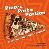 Piece = Part = Portion