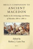 Brill's Companion to Ancient Macedon