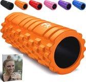 FFEXS Foam Roller - Therapie & Massage voor rug benen kuiten billen dijen - Perfecte zelfmassage voor sport fitness hardlopen - 34cm x 14cm Oranje