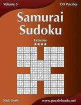Samurai Sudoku - Extreme - Volume 5 - 159 Puzzles