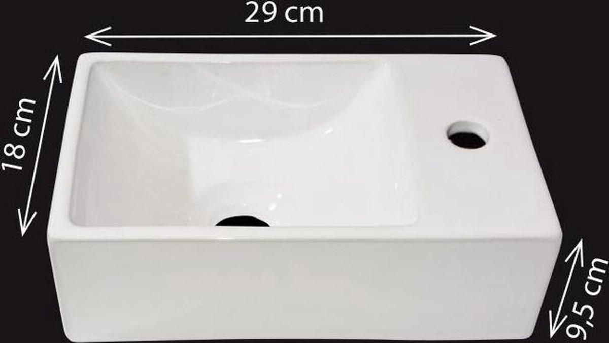 Best Design fontein Wonder rechts 29x18cm
