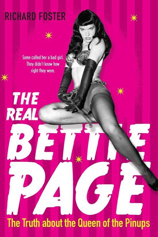 Boek cover The Real Bettie Page van Richard Foster (Paperback)