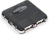 König 4-poorts USB hub 2.0 compact