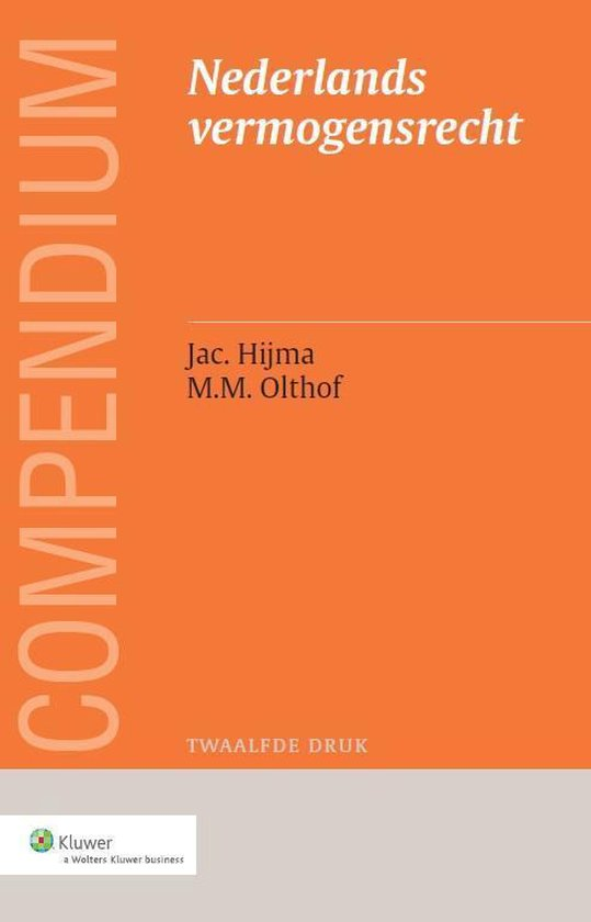 Afbeelding van Compendium van het Nederlands vermogensrecht