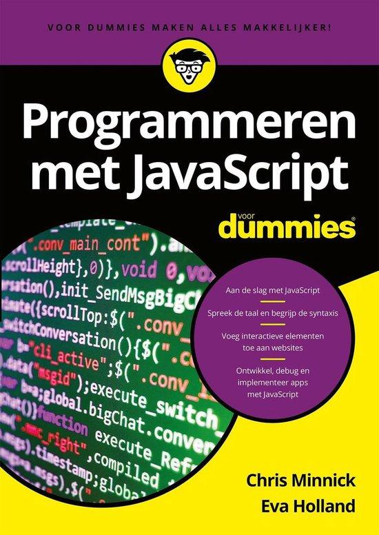Voor Dummies - Programmeren met JavaScript voor Dummies - Chris Minnick   Fthsonline.com