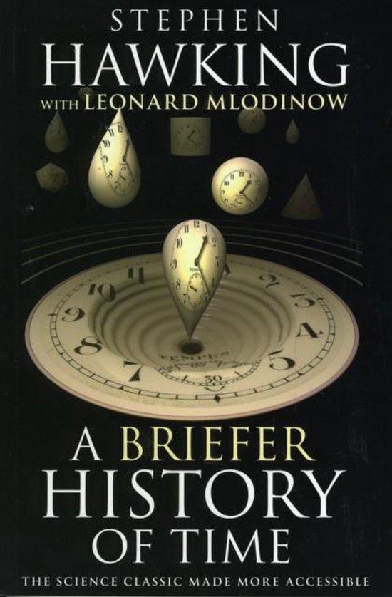 Boek cover Briefer History of Time van Stephen Hawking (Paperback)