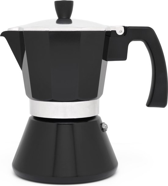 Leopold Vienna Espressomaker zwart 6 cups